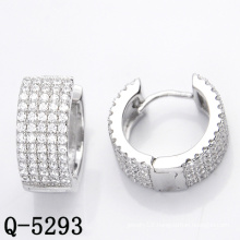 Shining Fashion Jewelry Hoop Earrings 925 Silver (Q-5293)