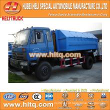 DONGFENG 4X2 modelo novo tipo de braço caminhão de lixo 8 cúbicos 170hp atraente de alta qualidade venda quente