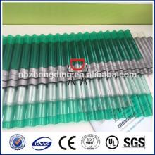 UV-geschützte Wellpappe aus Polycarbonat und Wellpappe