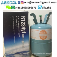 refrigerant gas HFO-1234yf used for automotive air conditioning replace r134a