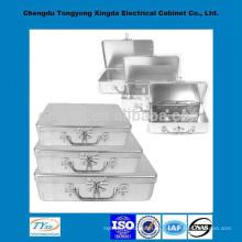 высокое качество подгонять алюминиевая резцовая коробка для портативный ящик для инструментов
