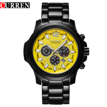 small dial curren watch alloy quartz wrist custom logo