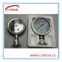 Stainless Steel Liquid Pressure Gauge