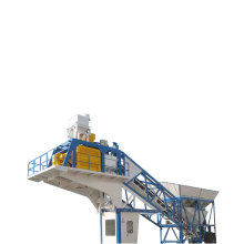 Mobile Concrete Batching Plant With Silo
