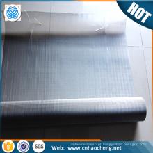 Equipamento marítimo 300 micron 2507 duplex de aço inoxidável tecido malha / filtro de malha de arame