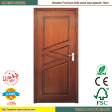 Oficina puerta de madera puerta de madera costosa madera puerta