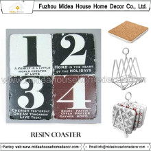 Factory Customed Blank Resin Coasters