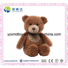 Soft Plush Dark Brown Teddy Bear