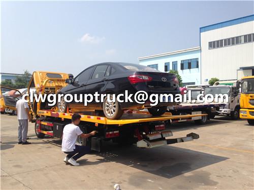 Flatbed Wrecker Truck_6