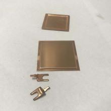metal personalizado estampado de piezas de chapa de latón