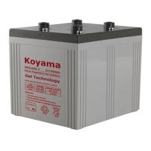 Bateria estacionária de gel 2V -2V1500AH para usina