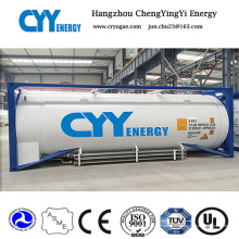 Neueste hohe Qualität und niedriger Preis LNG Lox Lin Lar Lco2 Kraftstofflagertankbehälter