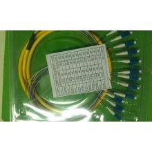Câble à fibre optique - Pigtail -LC / PC Sm 12 Cores