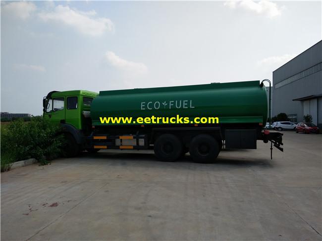 10 Wheel 16800L Gasoline Delivery Trucks