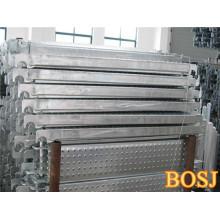 Plateaux en métal de plate-forme d'échafaudage en aluminium