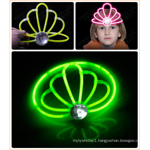 Glow Crown Glow Ornament Popular Crown Glow Toys (HGD5200-8)