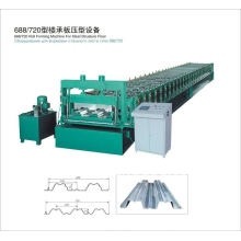 QJ 75-344-688 cnc rollo de cubierta de suelo que forma la máquina