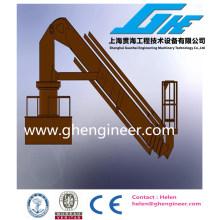 Heavy Hydraulic Telescopic unloader Crane