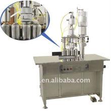 QGBS-500 Series 3-in-1 semi-automatic aerosol filling machine