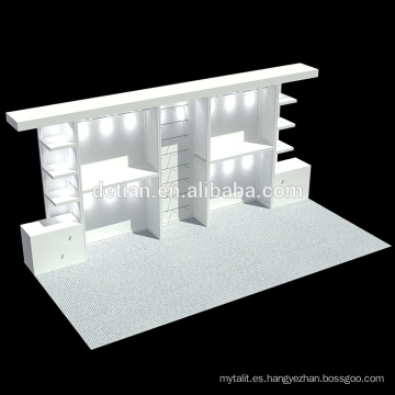 Detian Offer vitrinas de marco de aluminio con iluminación led
