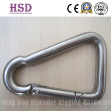 Stainless Steel Triangle Snap Hook, Triangle Snap Hook with Eyelet, with Screw, Commercial Type Snap Hook