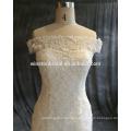OEM-Hersteller weiß und gold Brautkleid