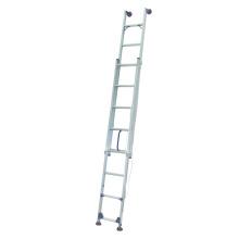 Einzigen geraden Leiter mit frei beweglichen Fuß