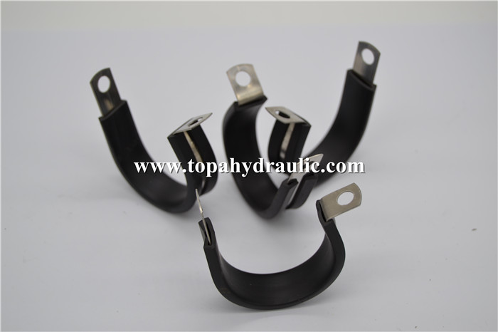 Hose hydraulic super aluminum rubber pipe clamp