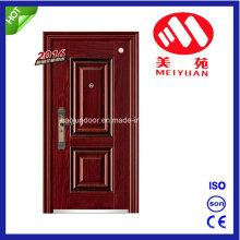 Puerta de acero para exportación, puerta de lujo competitiva