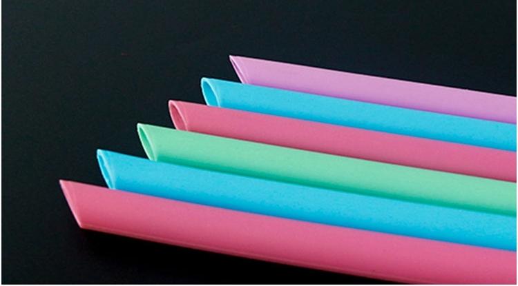 clear silicone straw