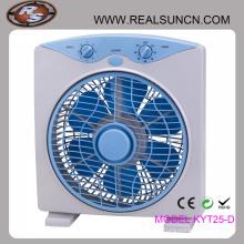 Ventilateur de boîte électrique carré de 10 pouces
