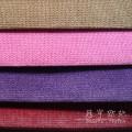 Terciopelo de pelo corto y Color doble para fundas de sofá