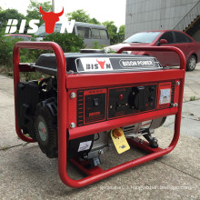BISON(CHINA) Emergency 1000W Portable Gasoline Generator 1 kw 12v In Stock