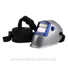 Casco de soldadura de oscurecimiento automático de alta calidad con respirador