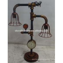 Industrielle Dampf-Punk-Lampe