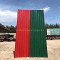 Painel de cobertura de alta resistência ao fogo MgO da folha de alumínio