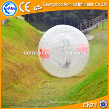 Plástico adulto melhor preço inflável humano tamanho hamster bola à venda