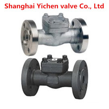 Forged Steel Spring Lift High Temperature Flanged Check Valve