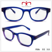 Unisex, acetato, leitura, óculos, metal, dentro, (wrp508320)