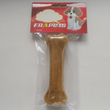 "Pet Food 5.5"" Natural Rawhide Pressed Bone Dog Chew"