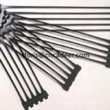 HDPE Plastic Uniaxial 25/25-150/150kn/M2 Geogrid for Earthwork Road Paved
