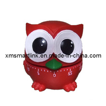 Poly Resin Owl Gifts 60min Kitchen Timer, Owl Souvenir for Gifts