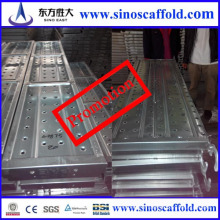 Plaque de planche à repasser en acier pré-galvanisé pour l'utilisation de maçonnerie