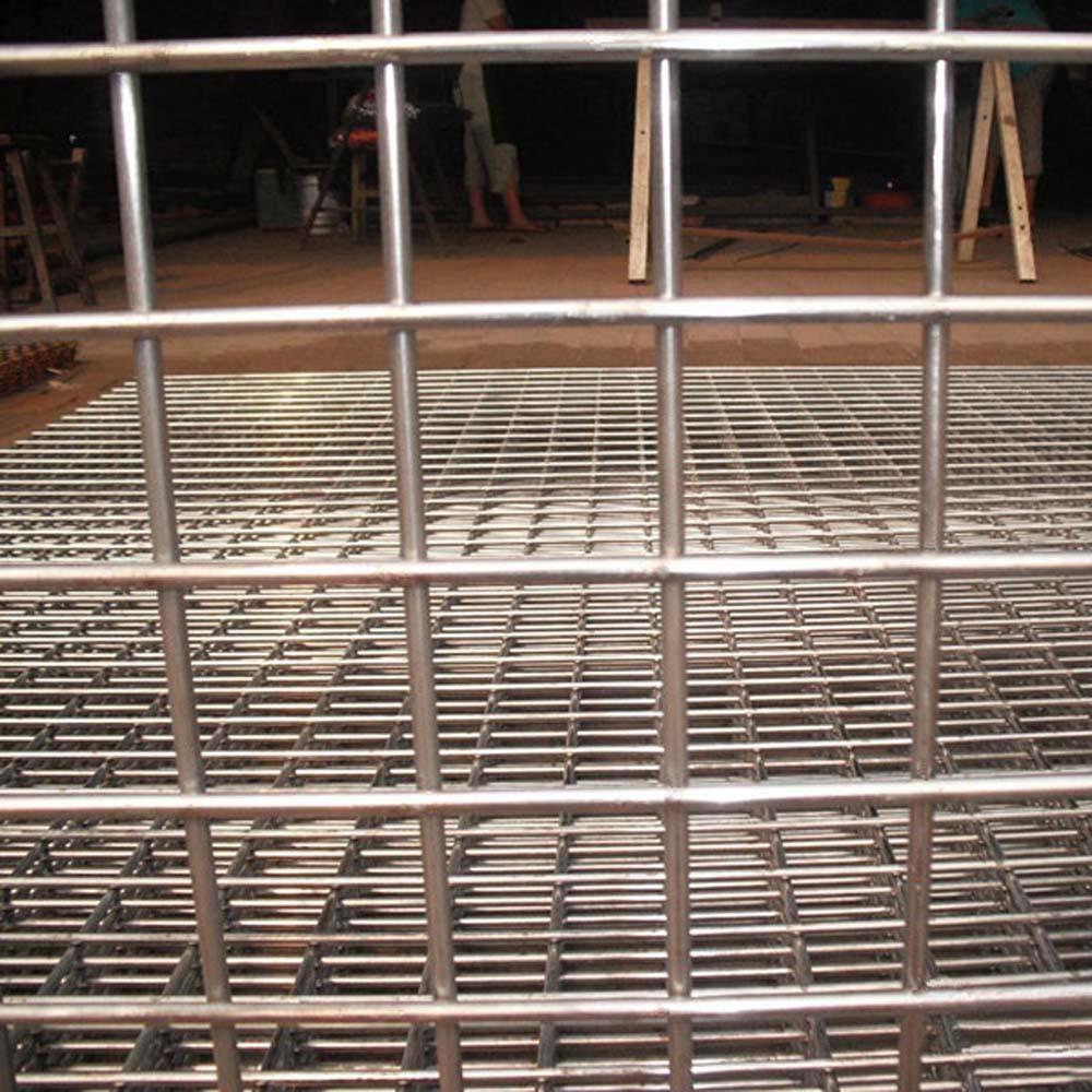 6x6cm galvanisierter geschweißter Maschendrahtzaun China-Hersteller