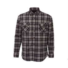 Lässig Warm halten Langarm Plaid Flanell Shirt