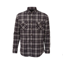 Casual Keep Warm Long Sleeve Plaid Flannel Shirt