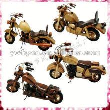 petites motos en bois chinois pour cadeaux ou promotion