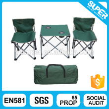 Camping foldable table with chair sets for children