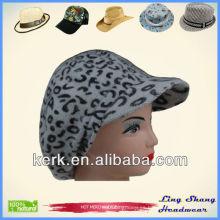 LSA24 Ningbo Lingshang angora y lana mantener caliente señora tejiendo sombrero de gorro de invierno