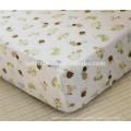 Bio-Baumwolle ausgestattet Spickzettel, Baby Bettlaken